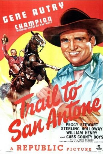 Trail to San Antone Poster