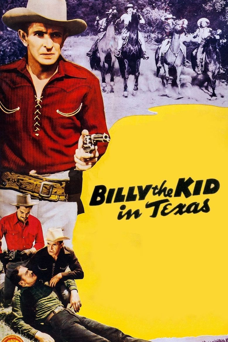Billy the Kid in Texas Poster