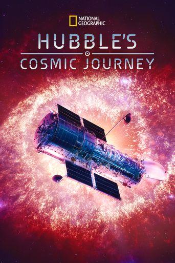 Hubble's Cosmic Journey Poster