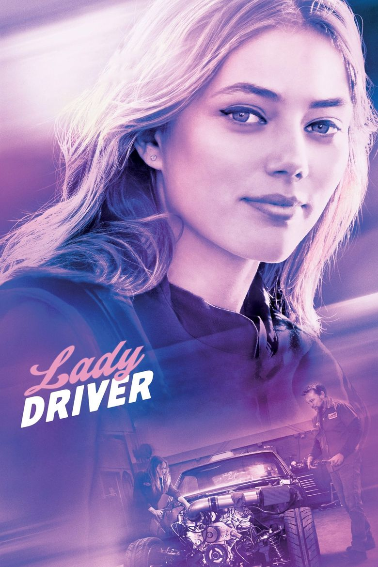 Lady Driver Poster