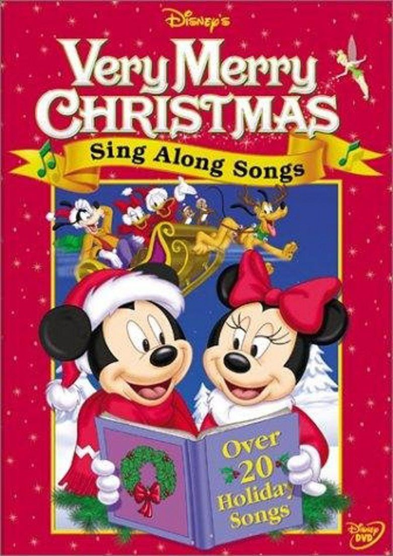 Disney's Very Merry Christmas Sing Along Songs Poster