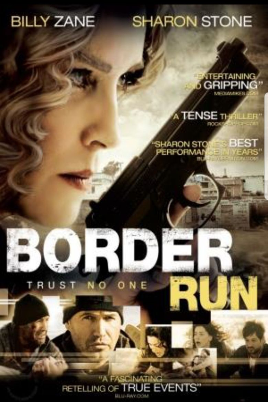 Border Run Poster