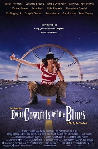 Even Cowgirls Get the Blues Poster