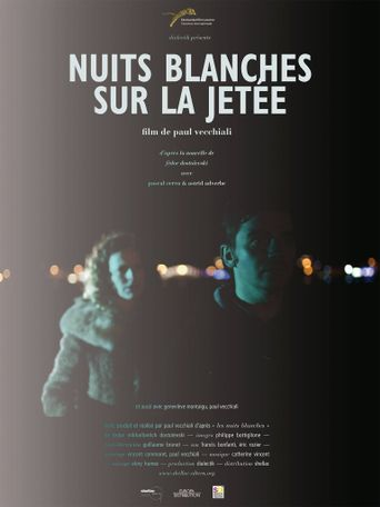 White Nights on the Pier Poster