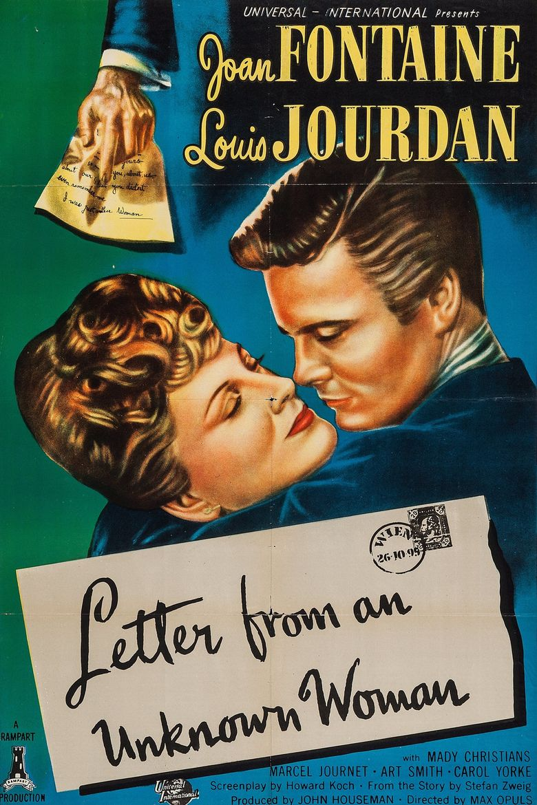 Letter from an Unknown Woman Poster