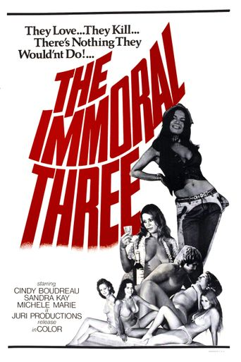 The Immoral Three Poster