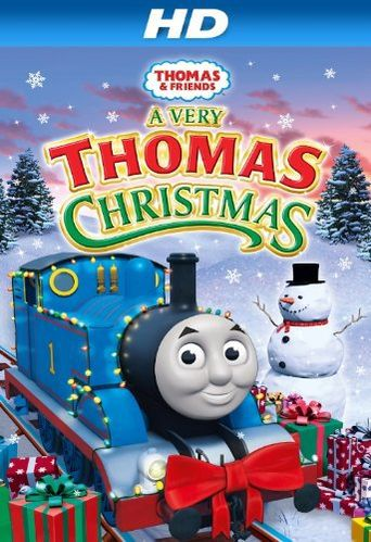 Thomas & Friends: A Very Thomas Christmas Poster