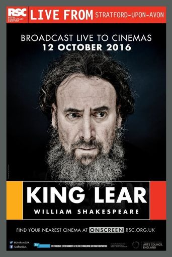 RSC: King Lear Poster