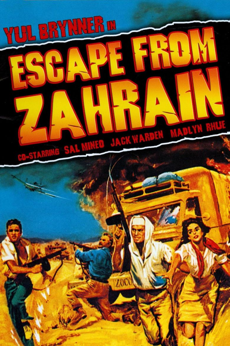 Escape from Zahrain Poster