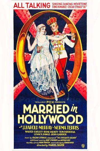 Married in Hollywood Poster