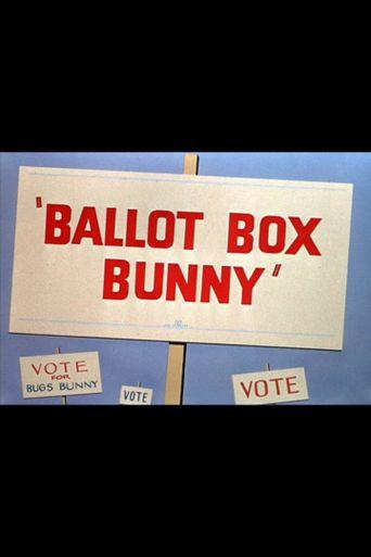 Ballot Box Bunny Poster
