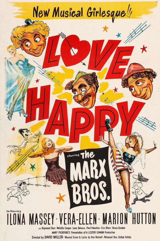 Love Happy Poster