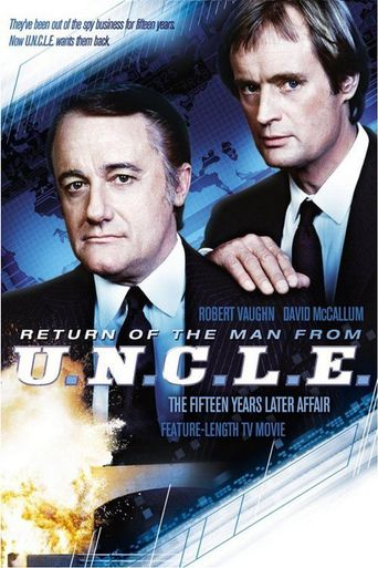 The Return of the Man from U.N.C.L.E.: The Fifteen Years Later Affair Poster