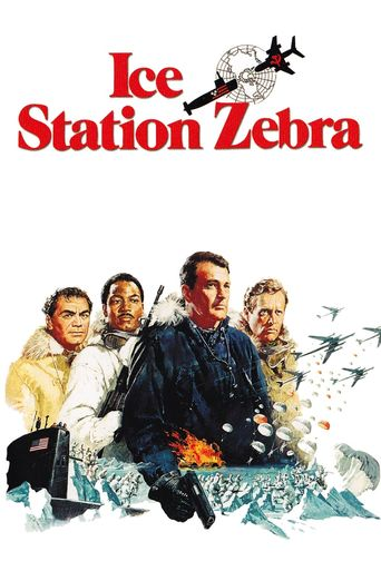 Ice Station Zebra Poster