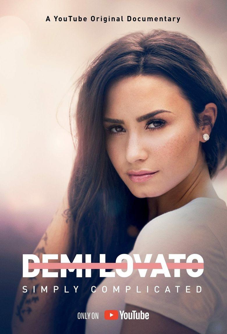Demi Lovato: Simply Complicated Poster
