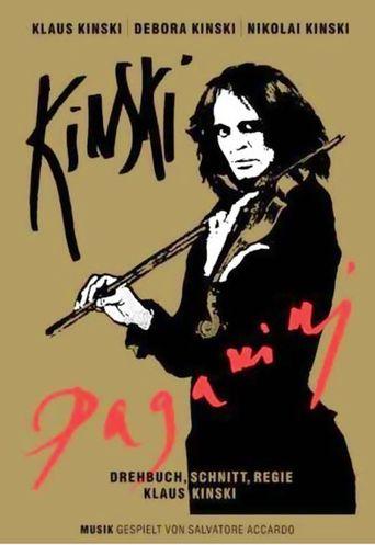 Kinski Paganini Poster