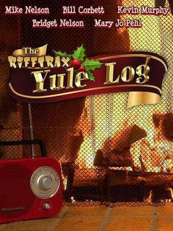 The Rifftrax Yule Log Poster