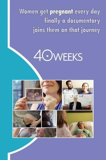 40 Weeks Poster