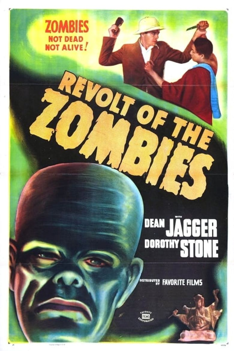 Revolt of the Zombies Poster