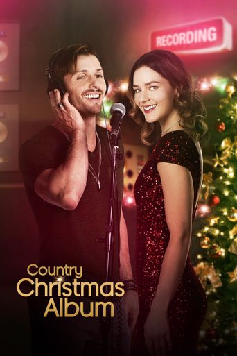 Country Christmas Album Poster