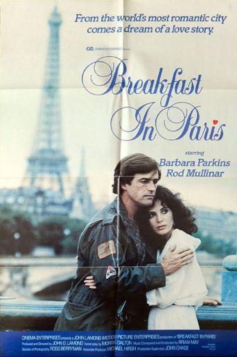 Breakfast in Paris Poster