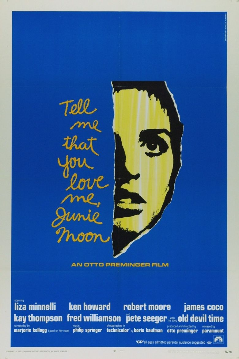 Tell Me That You Love Me, Junie Moon Poster