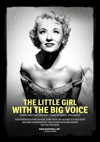 The Little Girl with the Big Voice Poster