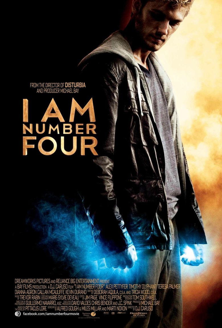 I Am Number Four (2011) - Watch on Netflix or Streaming ... I Am Number Four Movie Poster