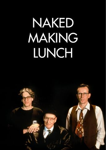 Naked Making Lunch Poster