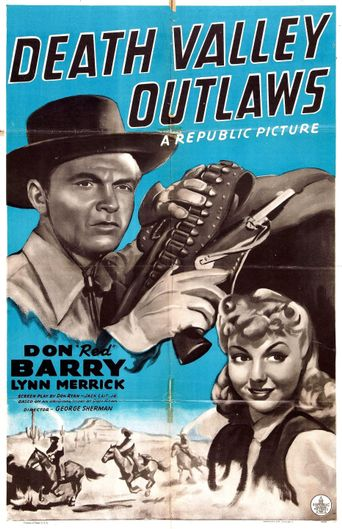 Death Valley Outlaws Poster
