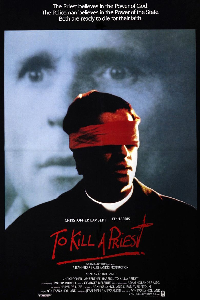 To Kill a Priest Poster