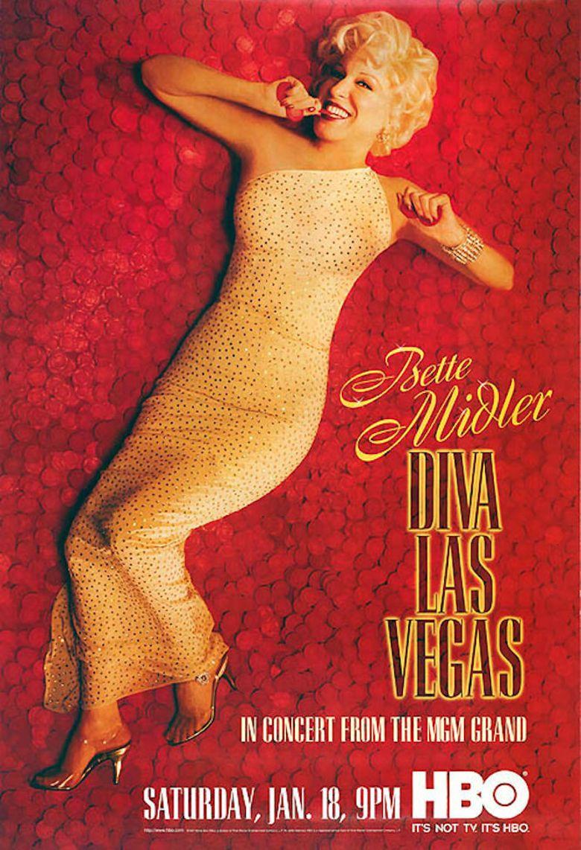 Bette Midler: Diva Las Vegas Poster