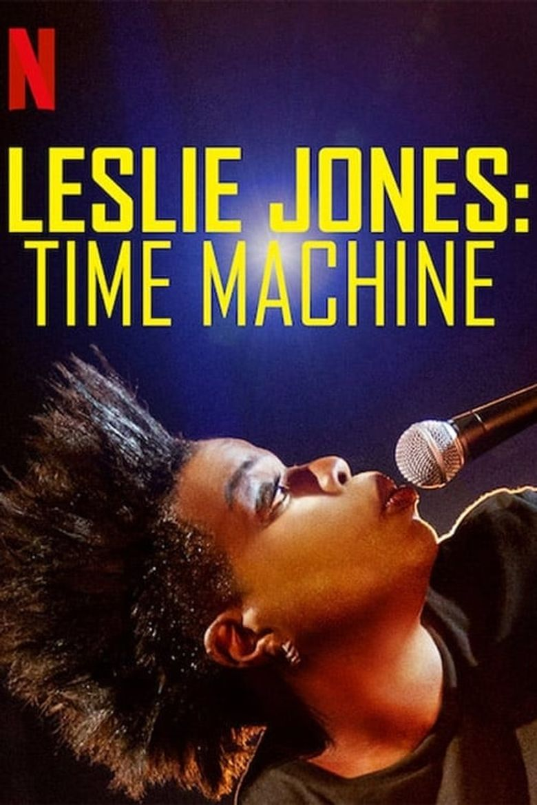 Leslie Jones: Time Machine Poster