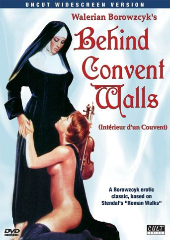 Behind Convent Walls Poster