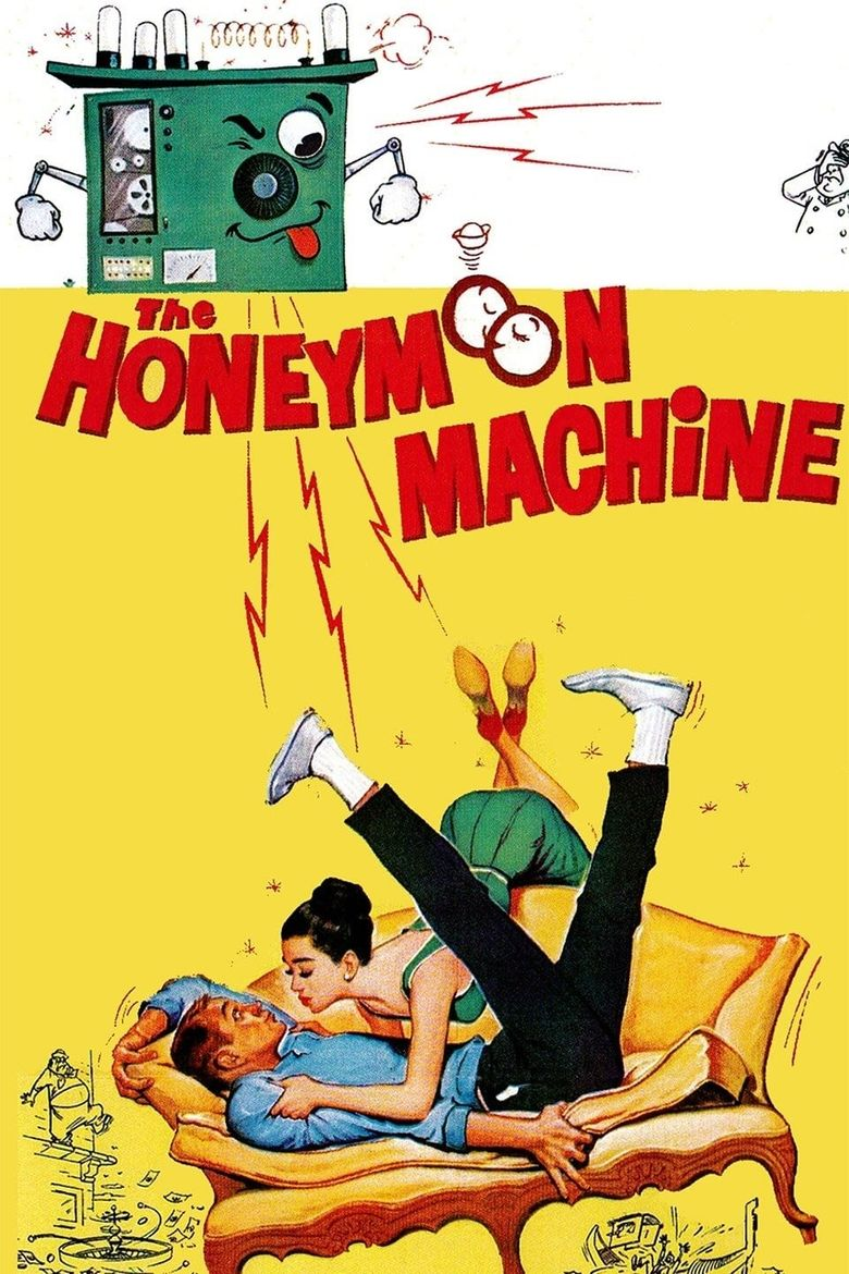 The Honeymoon Machine Poster