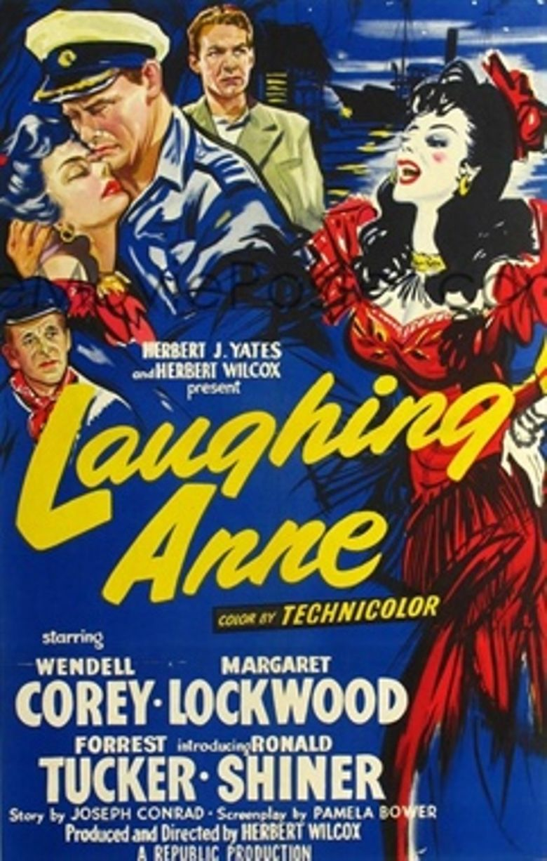 Laughing Anne Poster