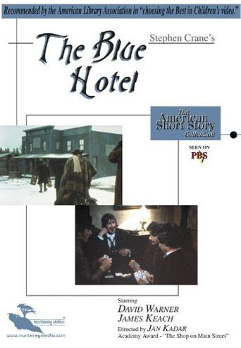 The Blue Hotel Poster