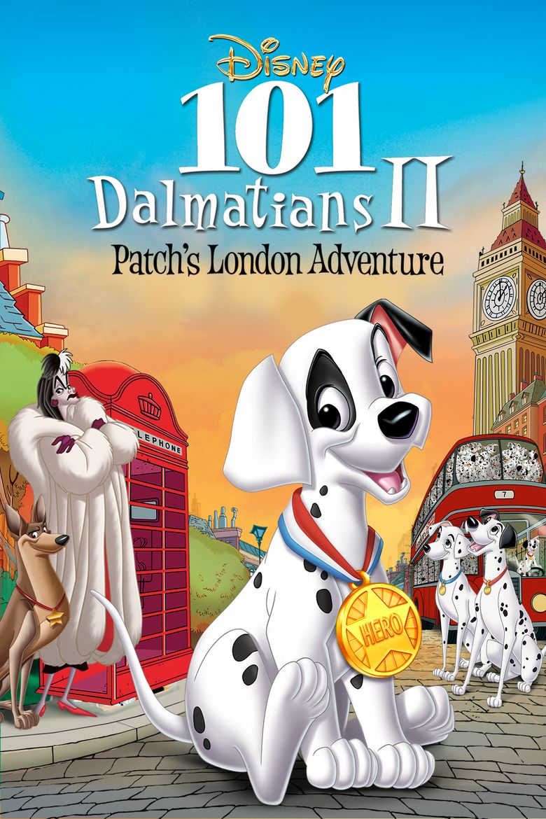 101 Dalmatians II: Patch's London Adventure Poster