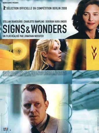 Signs & Wonders Poster
