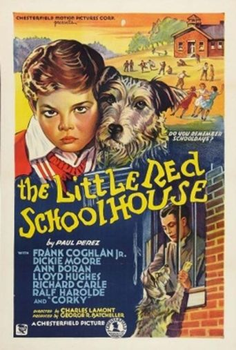 The Little Red Schoolhouse Poster