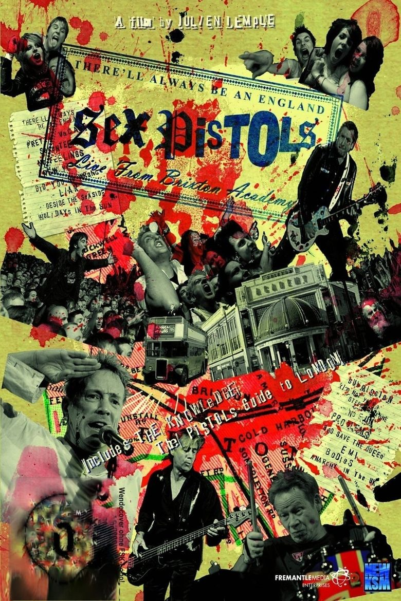 The Sex Pistols - There'll Always Be an England Poster