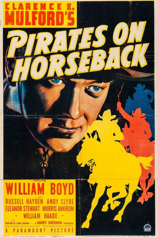 Pirates on Horseback Poster