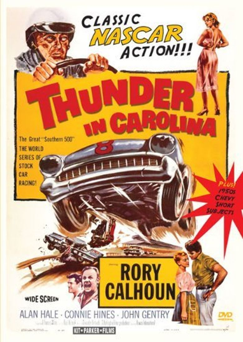 Thunder in Carolina Poster