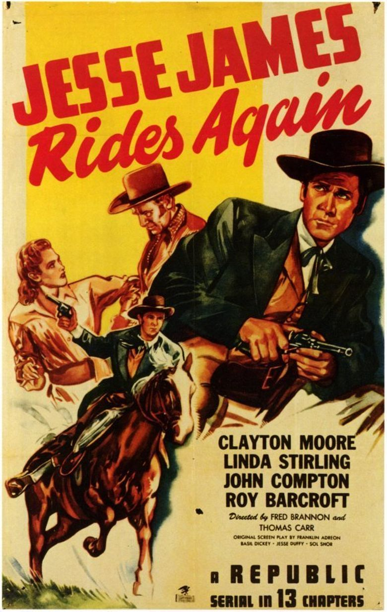 Jesse James Rides Again Poster