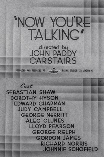 Now You're Talking Poster