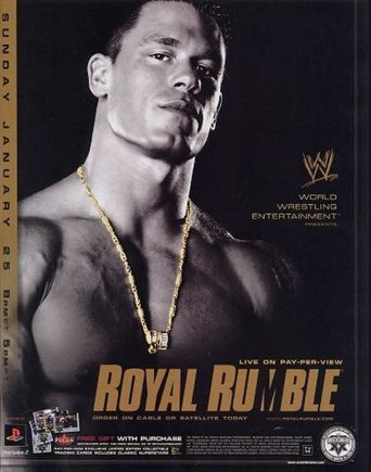 WWE Royal Rumble 2004 Poster