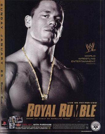 WWE Royal Rumble 2004 Poster