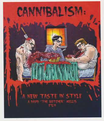 Cannibalism: A New Taste in Style Poster