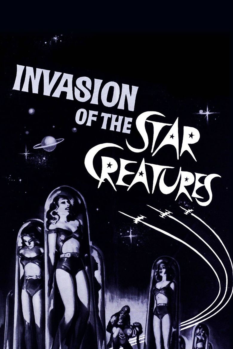 Invasion of the Star Creatures Poster