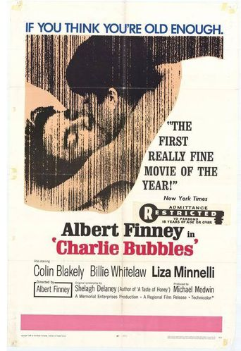 Charlie Bubbles Poster